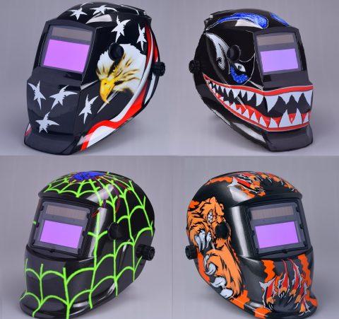 auto-darkening welding helmets